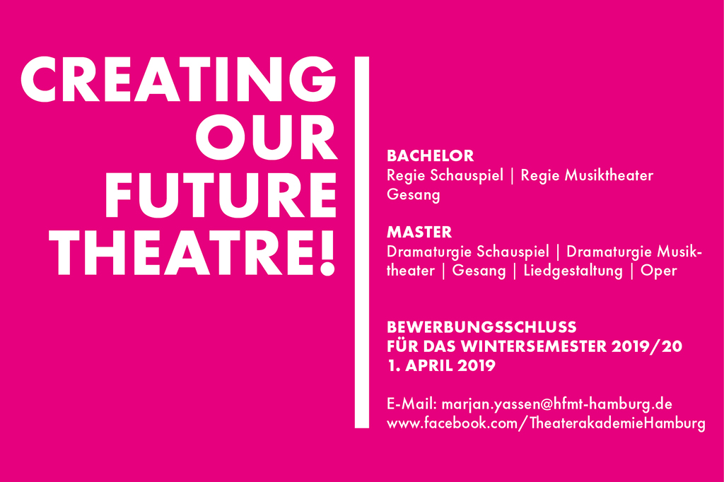 Creating our future theatre